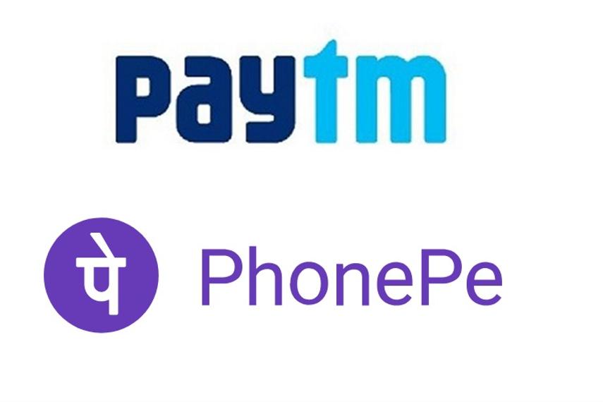 Paytm, PhonePe Make Vast Majority Digital Adoption To Threaten BFSI Space
