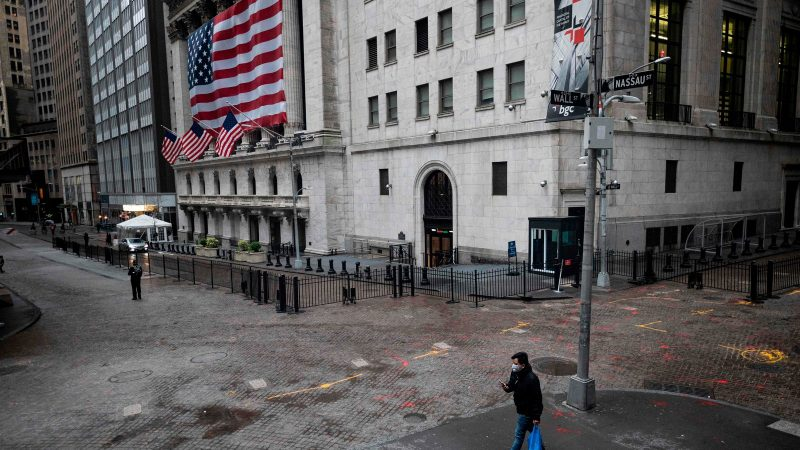 United States stocks flooding at lunch as US jobless cases information helps financial backer notion