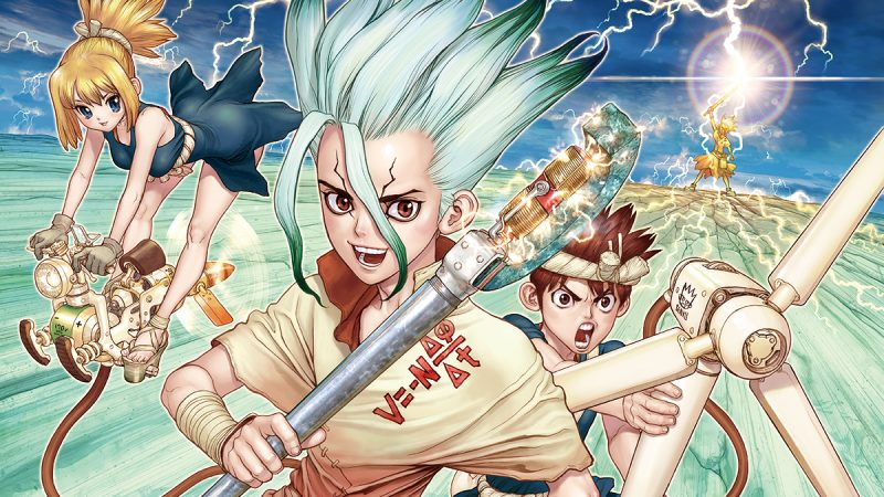 Dr. Stone: Chrome's Journey From Curious Scavenger to Senku's Amazing Changing